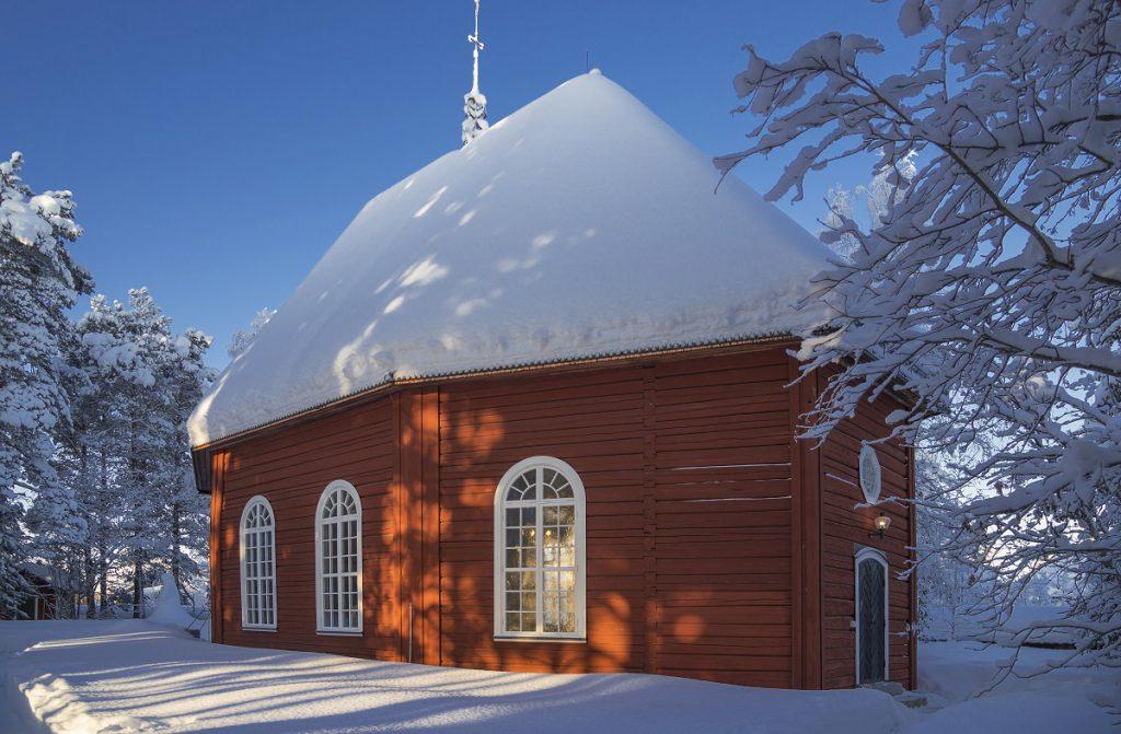 Alte Kirche in Jokkmokk