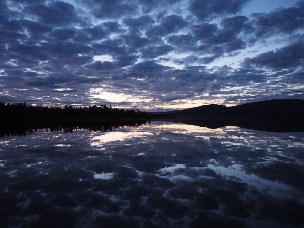 Nach Lappland auswandern, der Karatssee
