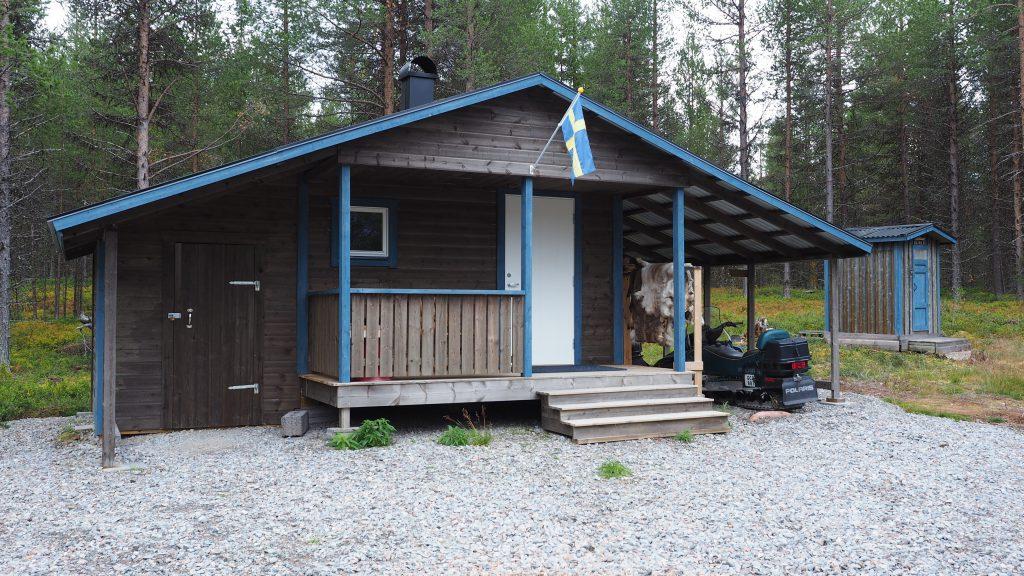 Die Bastu (Sauna) im Ferienhaus