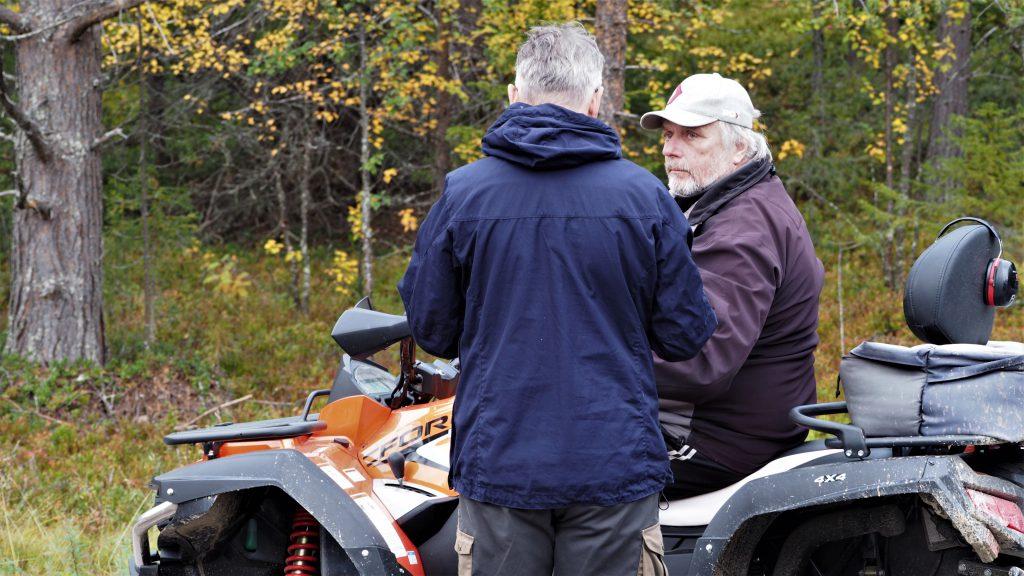 Bengt, Harald & das Quad