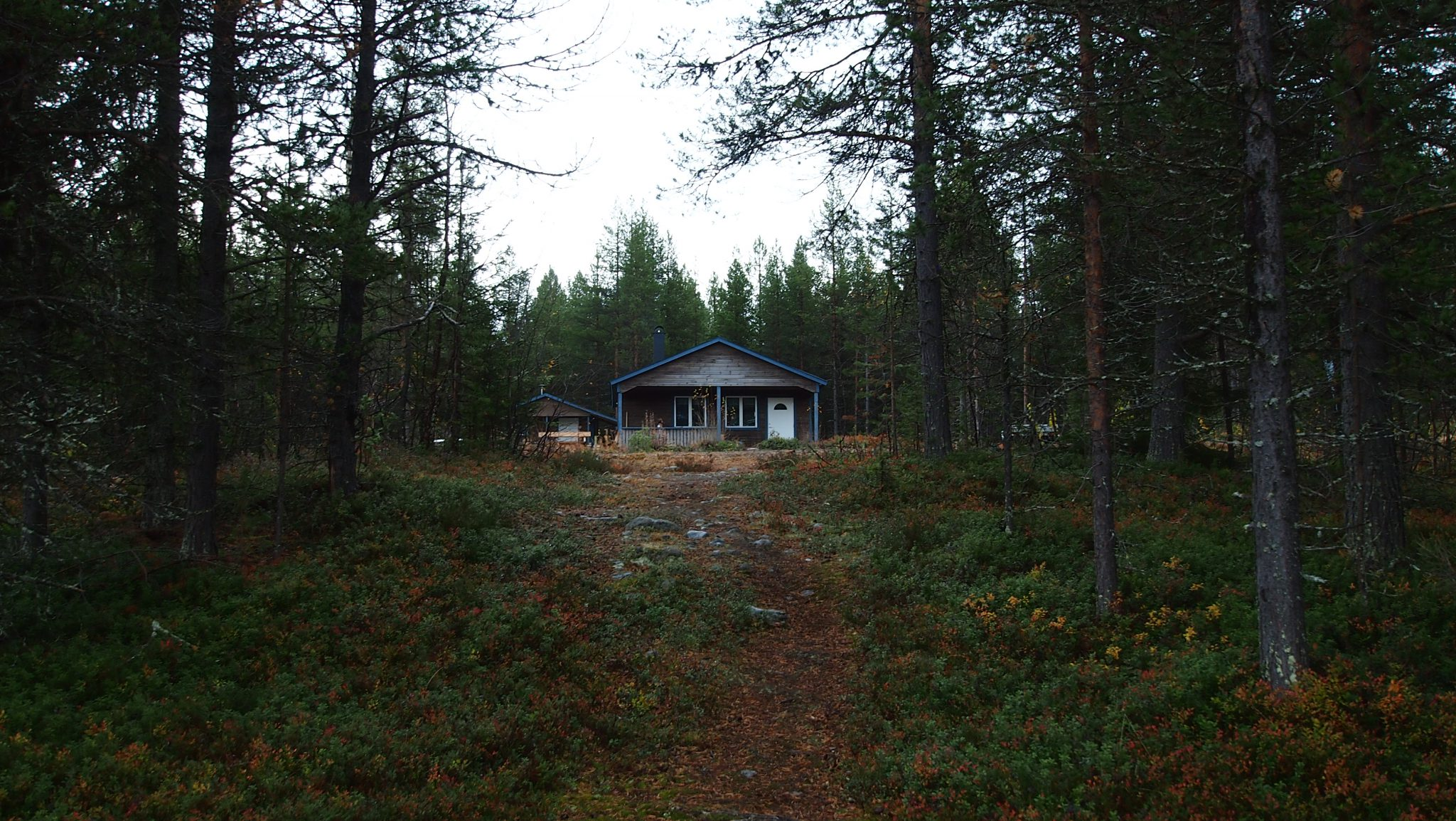 Das Ferienhaus in Vuojat