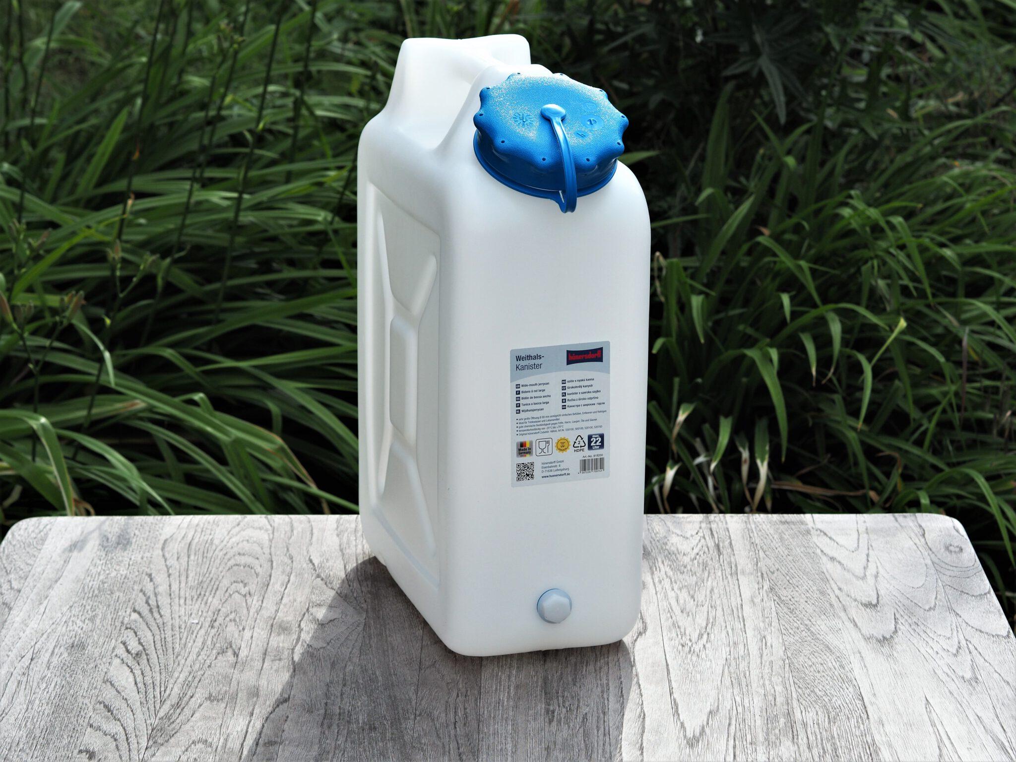 Wasserkanister von Hünersdorff