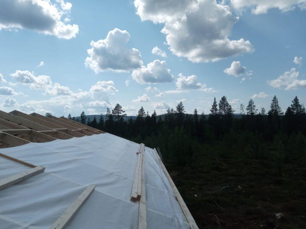Aussicht vom Dach