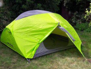 Zelt für die Fahrt nach Lappland