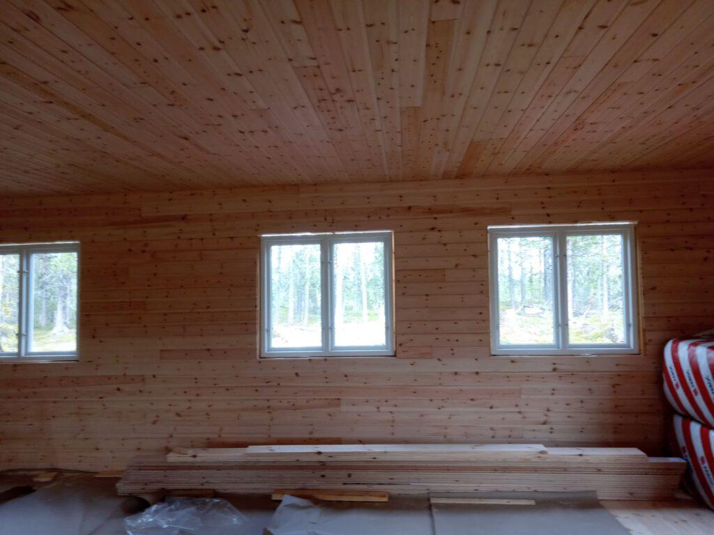 Die Fensterfront Küche Schlafzimmer