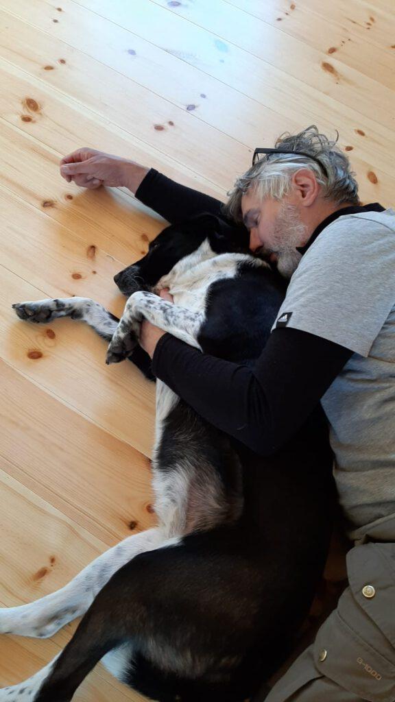 Harald und seine Norr - mit Hund im Urlaub