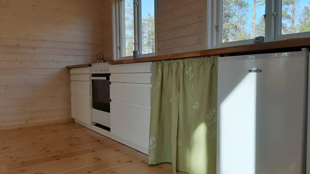 Secondhand Vorhang für die Küchenzeile