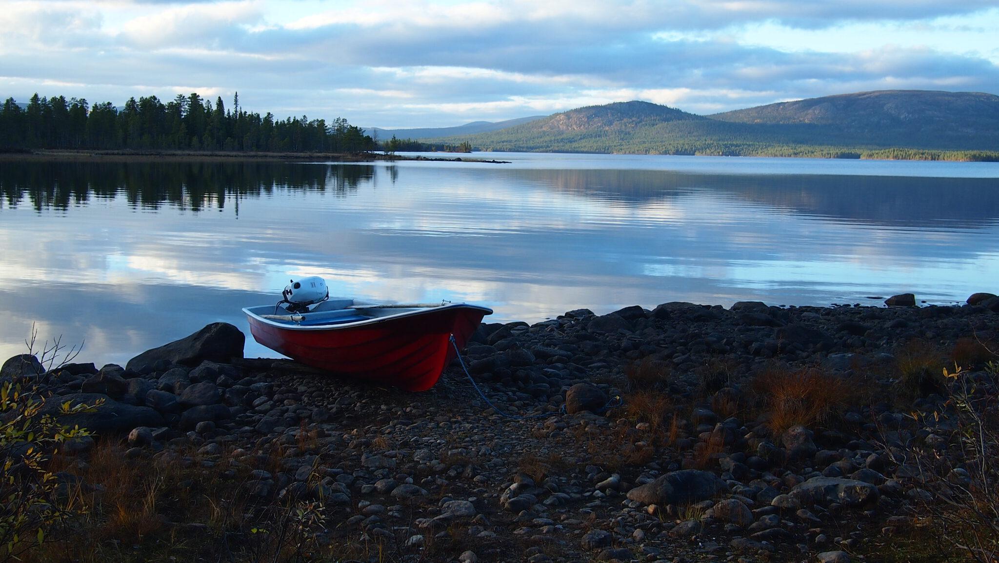 Seen in Lappland - Wasser ohne Ende