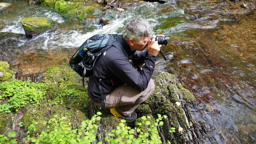 Themen auf dem Blog Harald beim Fotografieren