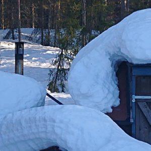 Grüße aus dem Schnee - Maggi & Bengts Haus